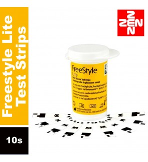 Freestyle Lite Test Strips 10s (Expiry date : October 2020)