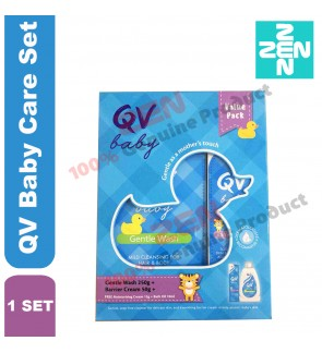 QV Baby Care Set(Gentle Wash 250g + Barrier Cream 50g)