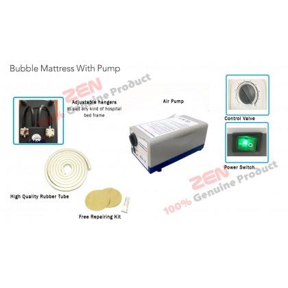 Bubble Ripple Mattress With Pump