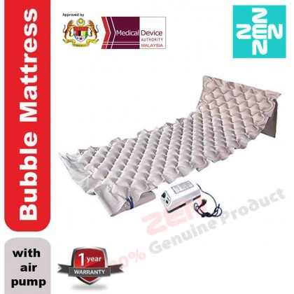 BUBBLE MATTRESS WITH PUMP