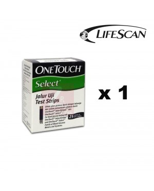One Touch Select Simple Test Strip 25S
