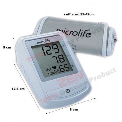 Microlife Blood Pressure Monitor 3NZ1-1P