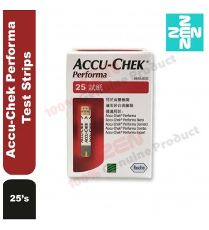 Accu Chek Performa Test Strips 25's (Expiry date: May 2020)