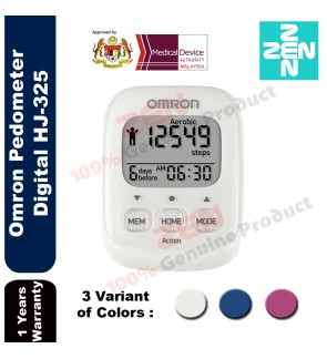 Omron Digital Pocket Pedometer  HJ-325
