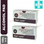 Alcohol Swab 100s X 2Box(Sterile Alcohol Pad for disinfection)