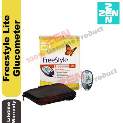 FreeStyle Freedom Lite Glucometer Blood Glucose Monitor ( No Test Strip and Lancing Device )
