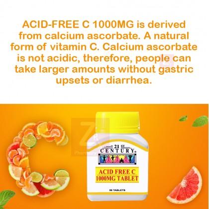 21st Century Acid Free Vitamin C 1000Mg (50s)