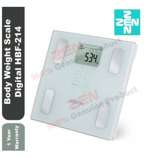 Omron Body Composition Monitor HBF-214 Karada Scan Digital Body Weighing Scale for BMI Body Fat Weight