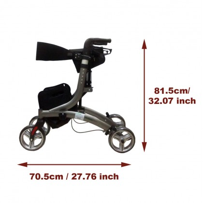 Rollator Walker Mobility  Aid (8860L)