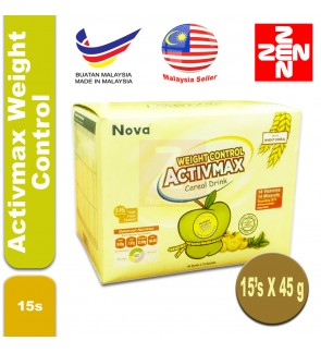 Activmax Weight Control 45gm x15 packets(box)