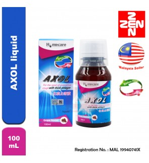 Homecare AXOL liquid grape flavour 100mL