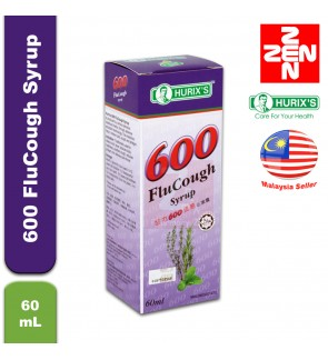 Hurix's 600 FluCough Syrup 60mL