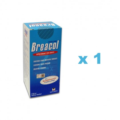 Breacol Expectorant For Adults 120mL