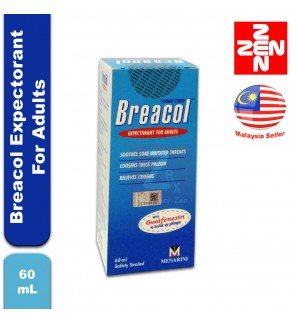 Breacol Expectorant For Adults 60mL