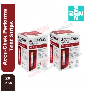 Accu-Chek Performa 2 x 25 Test Strips (Expiry date: May 2020)