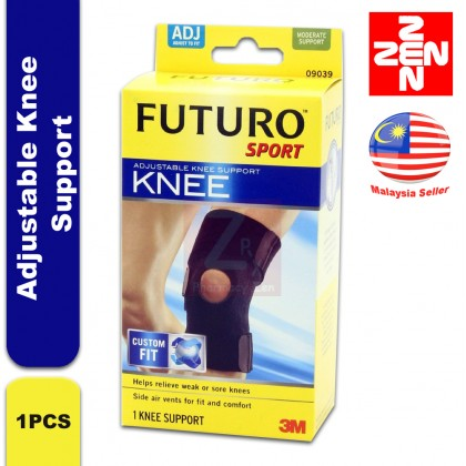 FUTURO SPORT ADJUSTABLE KNEE SUPPORT (ADJUST TO FIT)