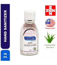 HEXASHIELD INSTANT HAND SANITIZER WITH MOISTURIZER 50mL