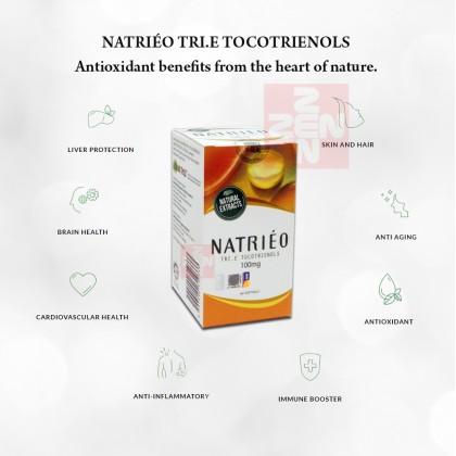 Natrieo Tri.E (Vitamin E) Tocotrienols 100mg(60 capsules)