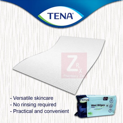 Tena Wet Wipe 40sheets/ packet