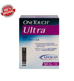 One Touch Ultra Test Strips 50's