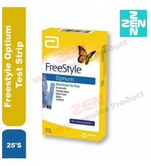 Freestyle Optium Test Strip 25'S
