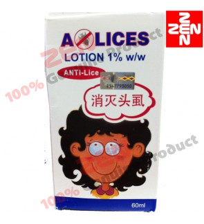 A-LICES Lotion ANTI-Kutu 60ML (EXP DATE: 04/2020)