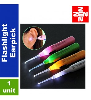 1 Unit LED Flashlight Earpick(Random color)