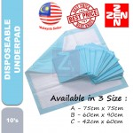 Disposable Underpad 10pcs/pack