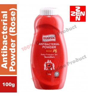 Agnesia Antibacterial Powder 100g(ROSE) (Exp date: 10/2020)